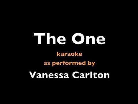 The One - Vanessa Carlton - Karaoke - Instrumental - Lyrics