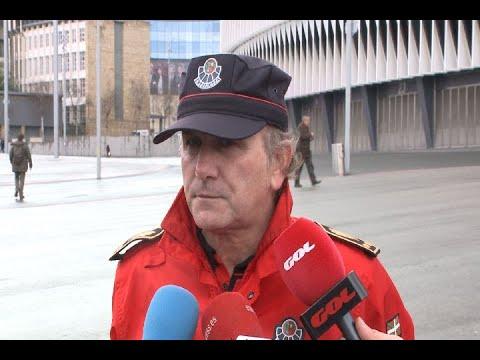 Ertzaina garantizará también la seguridad de los aficionados del Spartak