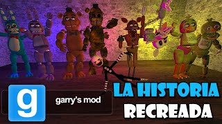 La Historia de Five Nights at Freddy's - Recreada en Garry's Mod || Creepypasta & Comedy