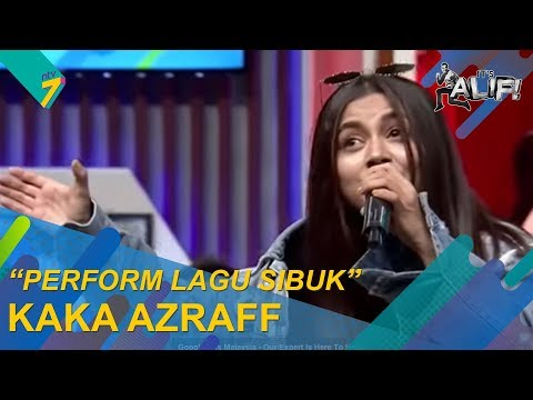 Sesi Jemming | Kaka Azraff perform lagu 'Sibuk' dalam It's Alif! | It's Alif! Mp3