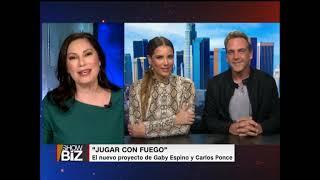 Gaby Espino y Carlos Ponce protagonizan Jugar con fuego - CNN