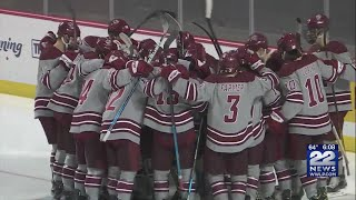 UMass Men's Hockey Wins First-ever East Championship