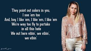 Miley Cyrus - No Tears Left To Cry (Ariana Grande Cover)(Lyrics) Mp3