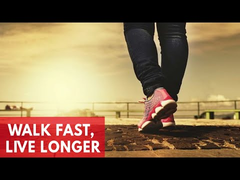 Walking Faster Could Help You Live Longer