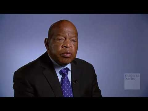 Congressman John Lewis on the Civil Rights Movement: Talks at GS