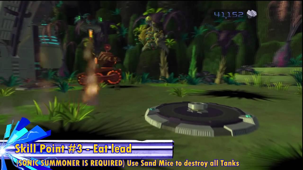 Ratchet & Clank (HD) - All Skill Points & Gold Bolts (Batalia)