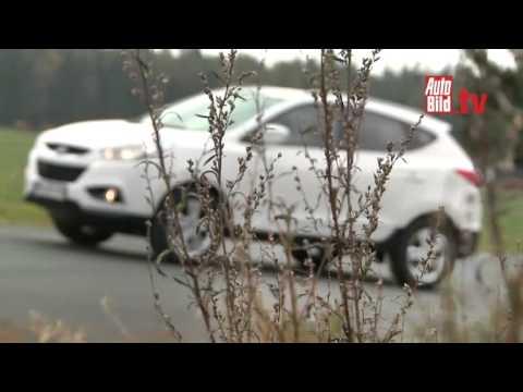 VW Tiguan 2.0 TDI vs. Hyundai ix35 2.0 CRDi Test Video ...............Oeni