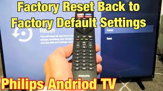 How to Factory Reset a Philips…