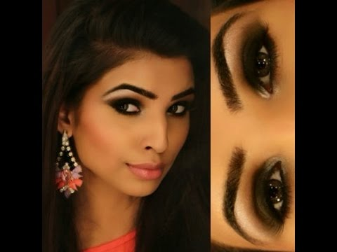 easy smokey eye makeup for beginners /indian skin tone