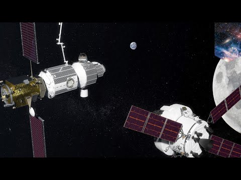 Russia and USA join forces to build space station near the Moon - TomoNews