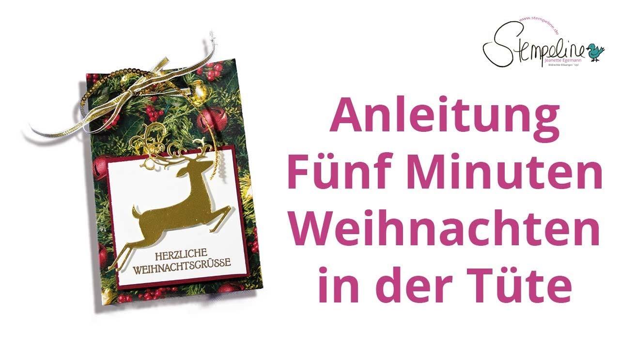 15 Minuten Weihnachten Anleitung.Fünf Minuten Weihnachten In Der Tüte 12 Sonntage Bis Weihnachten