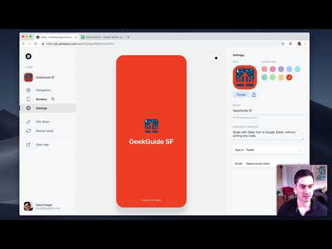 Create Your First App With Glide