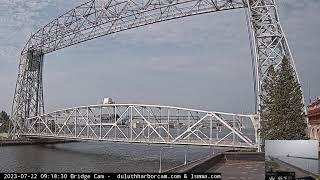 Preview of stream Duluth Aerial Lift Bridge Cam
