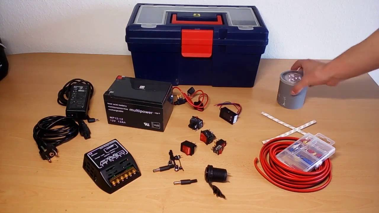 DIY Solar Power Pack - YouTube