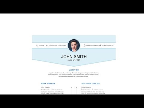Professional Resume Template -Timeless Lite