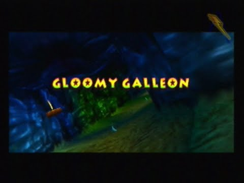 Donkey Kong 64 101% Walkthrough - Part 12 - Gloomy Galleon