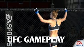 EA SPORTS- UFC android gameplay HOLLY HOLM (kickboxing) gameplay tips/