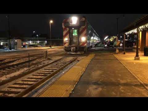 Railfanning Arlington Heights 1-3-18 (repost)