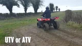 UTV or ATV?