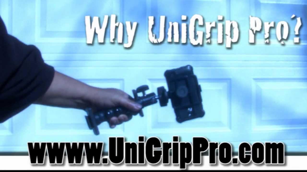 The Humvee of Smartphone Tripod Adapters - The UniGrip Pro