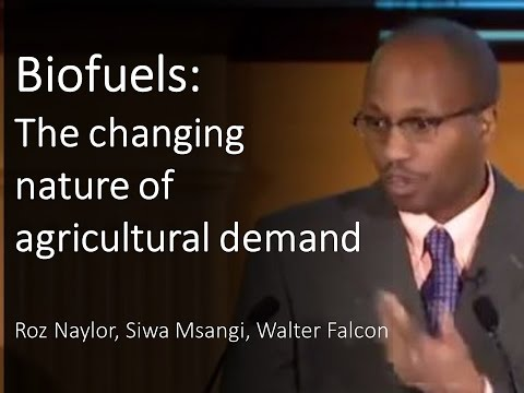 Biofuels: The changing nature of agricultural demand
