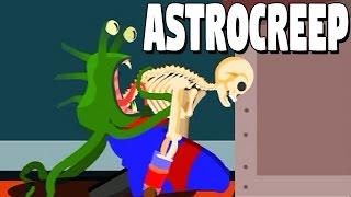 Astrocreep German Gameplay - Das Wunder der Analgeburt