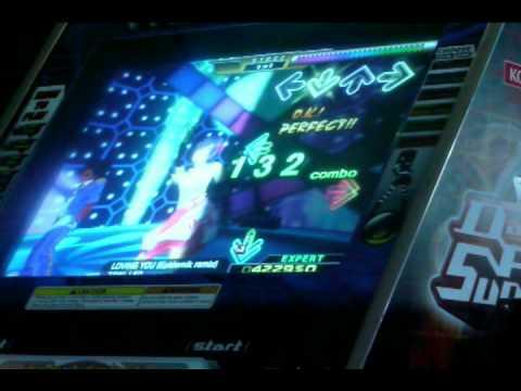 LOVING YOU (Epidemik Remix) AAA (Expert) on Dance Dance Revolution X (BZN Test Machine)