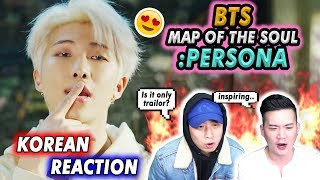Download 🔥Korean Guys reacts to BTS (방탄소년단) MAP OF THE SOUL : PERSONA 'Persona' Comeback Trailer💧💧 Mp3