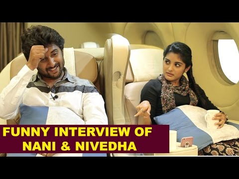Hero Nani, Niveda and Gentleman Team Special Interview in Flight - Gulte.com