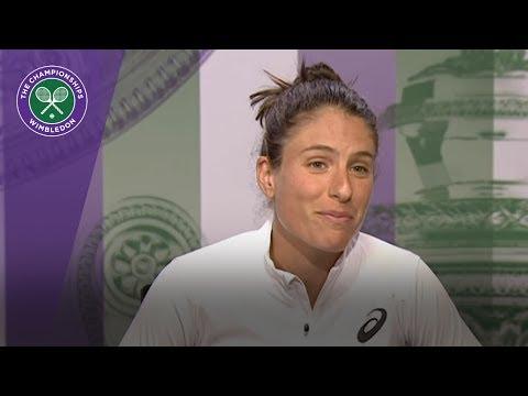 Johanna Konta Wimbledon 2017 fourth round press conference