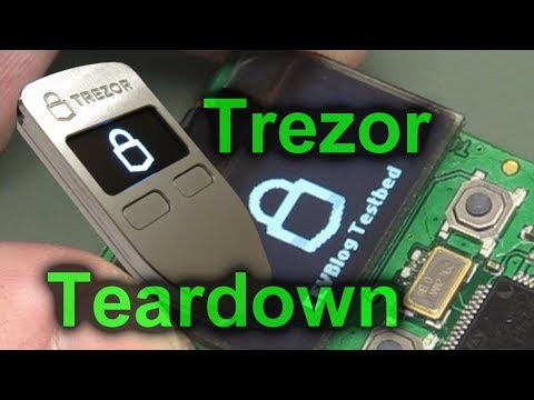 EEVblog #1006 - Trezor Bitcoin Hardware Wallet Teardown