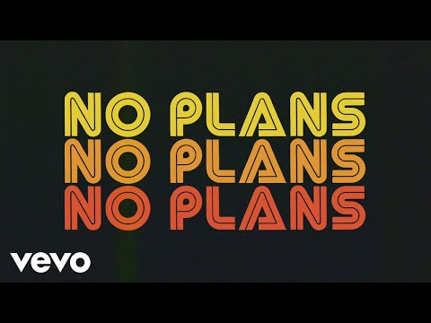 AJ Mitchell - No Plans (Lyric Video) ft. Marteen