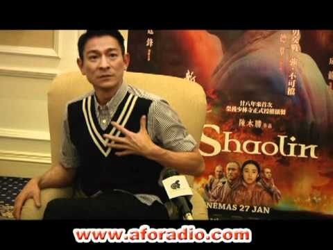 Shaolin - Interview with Andy Lau - Malaysia ( full interview )