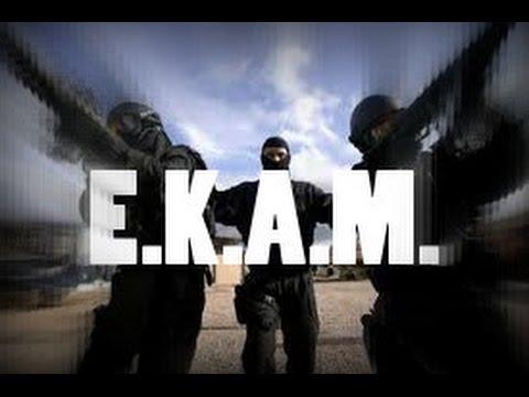 Greek Special Anti-Terrorist Unit E.K.A.M. / Grčka specijalna antiteroristička jedinica E.K.A.M.