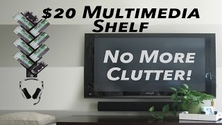How To Make A $20 Gaming Shelf/ Multimedia Rack For $20! Lesson Preview By Ohaple