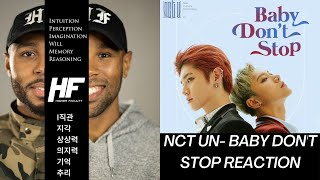 NCT U-Baby Dont Stop REACTION (KPOP) Higher Faculty