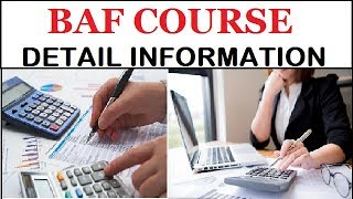 Best Course after 12th | Career after 12th | BAF Course Full Detail