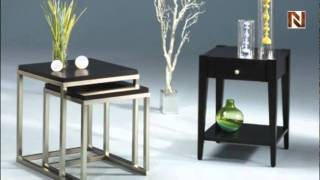 Modern Hammary Currant Nesting Tables T2002960-00 By Hammary Furniture