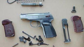 Пістолет МР-654К 4.5 мм. Переробка в ПМ (Пневматичний ''Макаров'') Частина 2