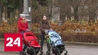 Снегопады и плавное понижение температуры: Москва берет курс на зиму - Россия 24