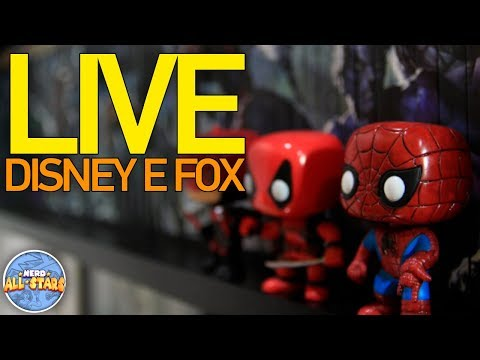 LIVE SOBRE DISNEY, FOX E UNIVERSO MARVEL NOS CINEMAS!