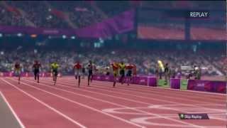 London 2012 Olympics 100m gameplay