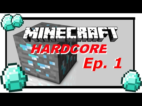 Minecraft Hardcore Ep.1: Race to Resources!