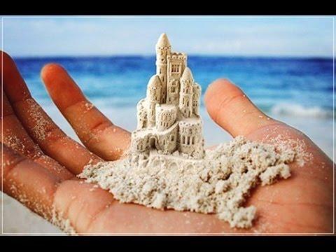 Как сделать кинетический песок из крахмала