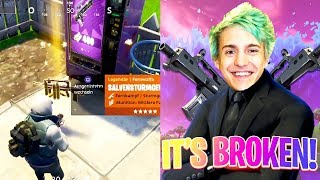 FAMAS LÉGENDAIRES DE LA MACHINE DISTRIBUTRICE ÉPIQUE 'GLITCH'! (Fortnite Epic - Funny Twitch Moments #58)