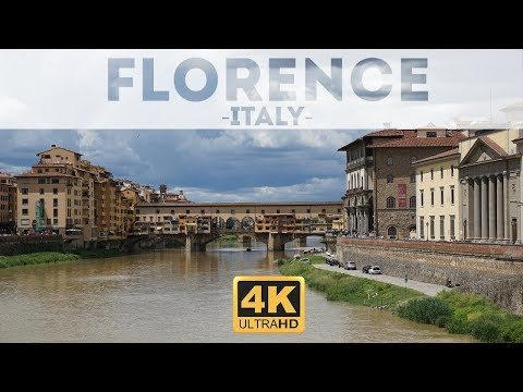 Florence Italy in 4k