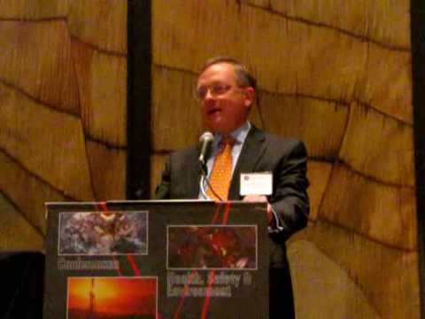 Larry Dickerson, Diamond Offshore, is 2009 IADC Contractor of the Year