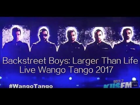 Backstreet Boys Live Wango Tango 2017.5.13 (Full Show)