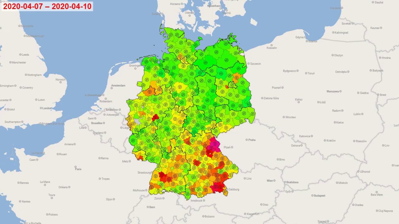 Covid 19 Cases Coronavirus Disease In Hessen State Germany