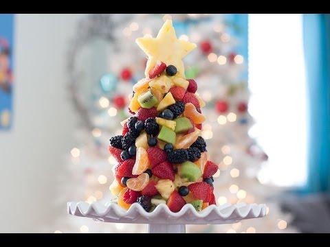 Fruit Christmas Tree recipe